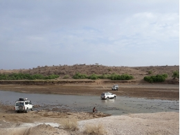 The site is located in the palanteological area of Woranso-Mille in the Afar Region (Ethiopia). Credit: Ll. Gibert, UB